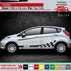 FORD FIESTA FASCE ADESIVE...