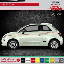FIAT 500 500C FASCE ADESIVE...