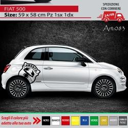 FIAT 500 595 695 ADESIVI...